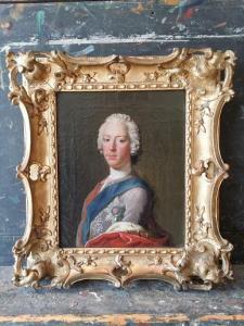 Allan Ramsay 'Prince Charles Edward Stuart' 1745 (c) Bendor Grosvenor www.arthistorynews.com