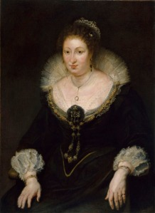 Sir Peter Paul Rubens, Lady Alatheia Talbot Countess of Arundel (1587 - 1654) 1620 Museu Nacional d'Art de Catalunya - Barcelona, Catalonia Spain