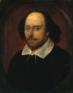 NPG 1; William Shakespeare attributed to John Taylor
