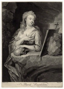 NPG D38265; St Mary Magdalene by and sold by John Faber Jr, after  Thomas Hudson
