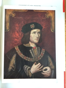 RM KIng Richard III Aunty's postcard to Dally