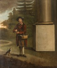 Jack Nicholas (b. 1720), Kitchen Porter, aged 71 by John Walters of Denbigh (1721 - 1797)