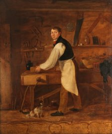 Thomas Rogers (1781-1875), Carpenter, aged 48by William Jones of Chester (fl.1818-1853/58)