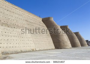 stock-photo-the-walls-of-bukhara-uzbekistan-98621807