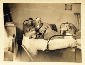 Uncle Tom and comrades in hospital