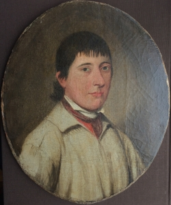 Portrait of Solomon, farm labourer