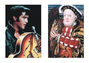 Elvis and King Henry VIII