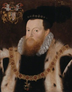 NPG 1092; Sir Henry Sidney by or after Arnold Bronckorst