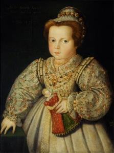 Lady Arabella Stuart, later Duchess of Somerset (1575 ¿ 1615), aged 23 months by British (English) School