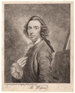 NPG D4833; Benjamin Wilson by Benjamin Wilson