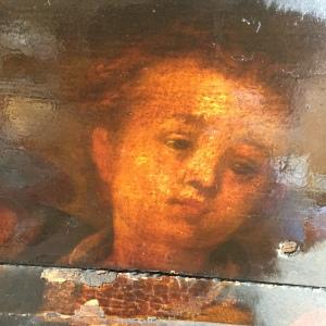 Aertsen detail young woman's head