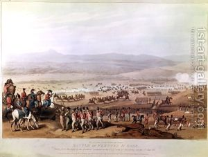 Battle-Of-Fuentes-D$27onoro-On-5th-May-1811,-From-A-Series-Of-Views-Of-The-Principal-Occurrences-Of-The-Campaigns-In-Spain-And-Portugal,-Engraved-By-C.-Turner,-1812