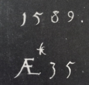 Peake calligraphy