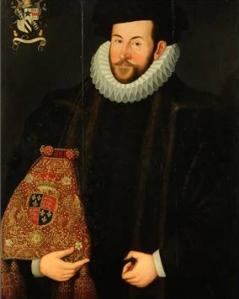 Portrait of Sir John Puckering