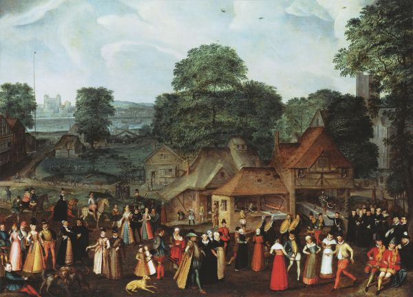 Joris_Hoefnagel_Fete_at_Bermondsey_c_1569