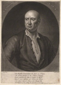 by John Faber Jr, after John Ellys, mezzotint, circa 1727-1729