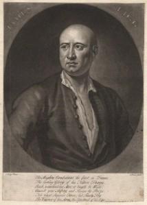 by John Faber Jr, after John Ellys, mezzotint, circa 1727-1729