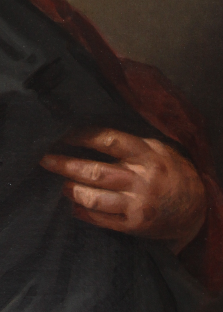 JM Closterman hand