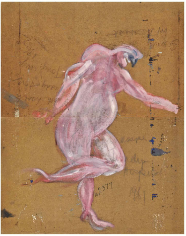 Blog post Francis Bacon sketch