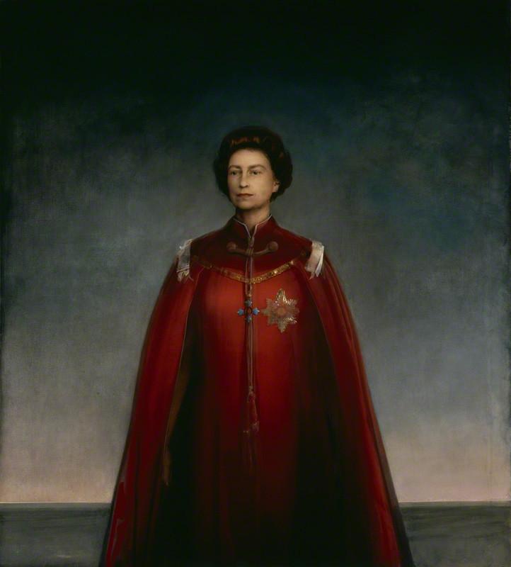 NPG 4706; Queen Elizabeth II by Pietro Annigoni
