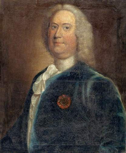Taylor, Robert, 1714-1788; Richard Gwynne of Taliaris and Tregib (d.1752), President of the Society of Sea Sergeants