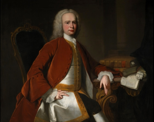 Hudson Portrait of Peere Williams the younger c.1740