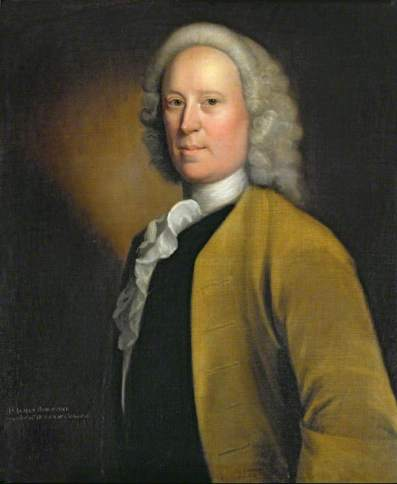 Taylor, Robert, 1714-1788; Mr James Heseltine