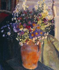 Michaelmas Daisies c.1923 by James Bolivar Manson 1879-1945