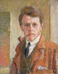 Self-Portrait c.1912 by James Bolivar Manson 1879-1945