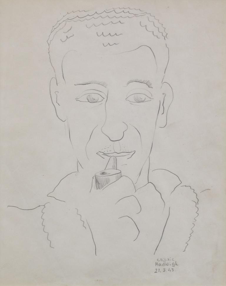 Warburton Portrait of Cedric 1943