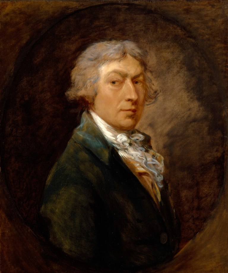 Gainsborough, Thomas; Self-portrait of Thomas Gainsborough, R.A.