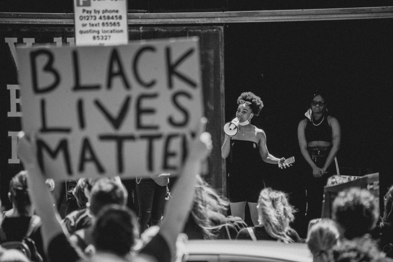 BLM Safe and silent protest-0010